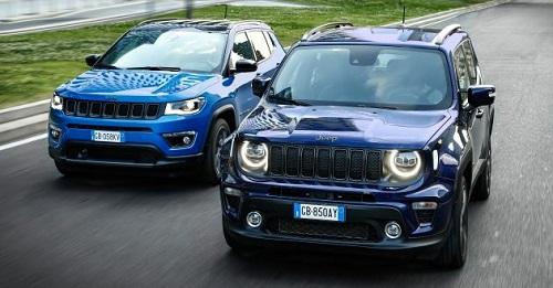 2021 Jeep Renegade và Compass 4XE.