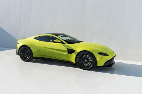 3. Aston Martin Vantage.
