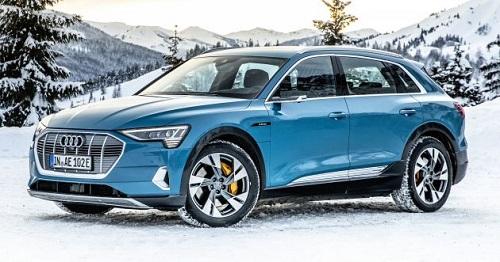 Audi, e-tron SUV, hiện là mẫu SUV điện bán chạy nhất ở châu Âu.