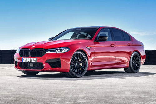 8. BMW M5 Competition.