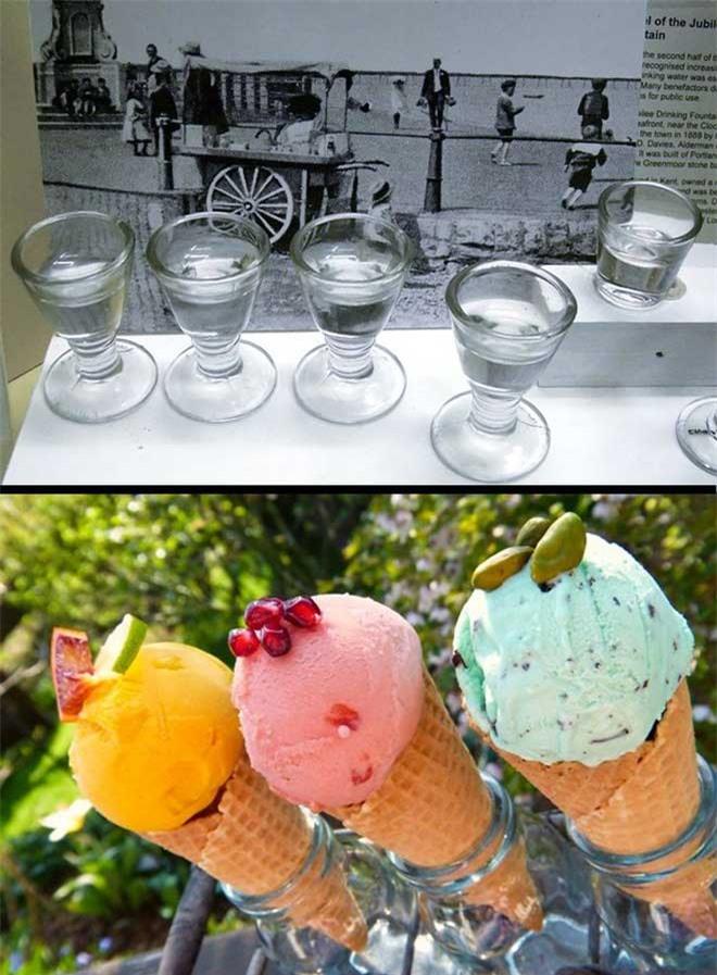 Tại sao kem được bán trong một chiếc bánh quế?