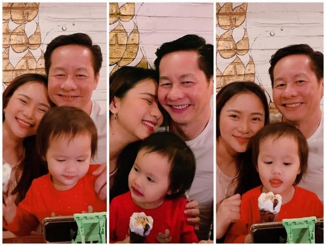 chồng Phan Như Thảo chiều con 1