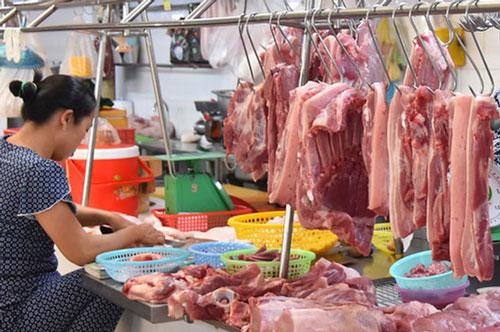 Cần Thơ sẽ mở hàng chục điểm bán thịt lợn bình ổn. Ảnh minh họa.
