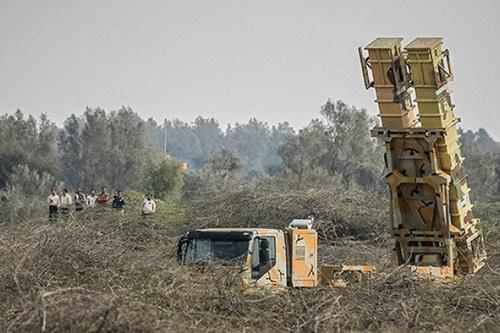 Hệ thống phòng không Iran được cho là đã có mặt tại Syria. Ảnh: Al Masdar News.