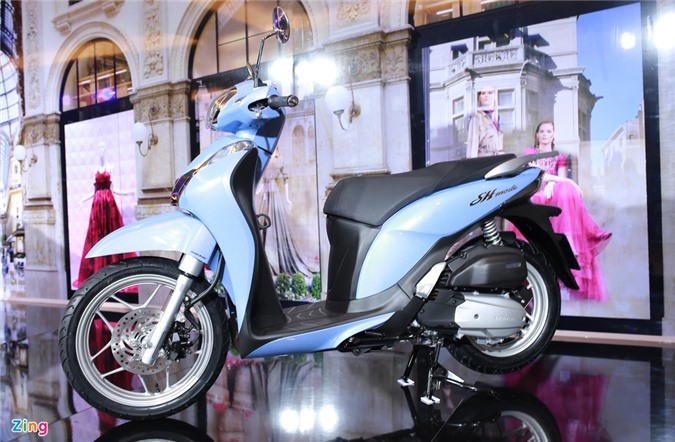 Honda SH Mode 2020 duoc nang cap gi so voi doi cu anh 1