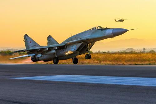 Tiêm kích Nga đã bị tên lửa phòng không Iran