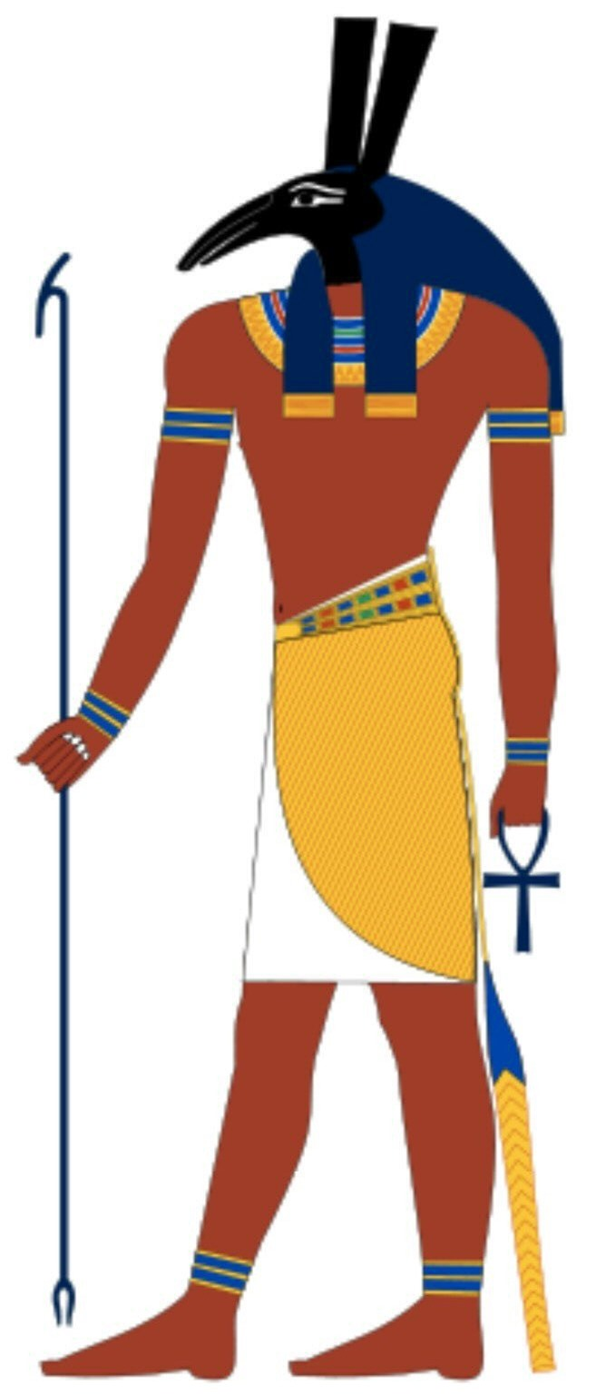 Vị thần Ai Cập Anubis