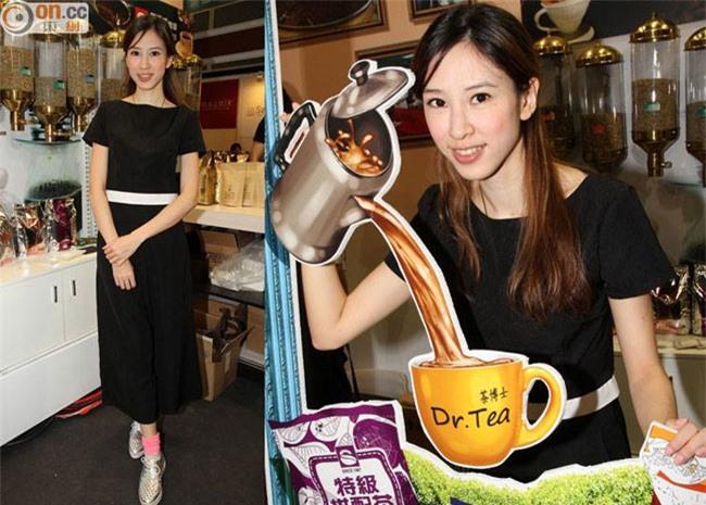 Tư Tề khi kinh doanh tiệm trà, cafe.