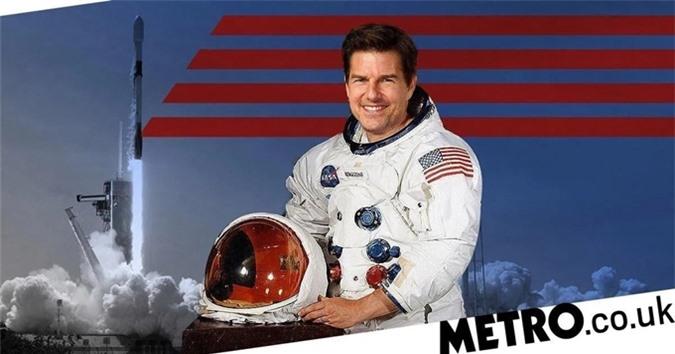 Tom Cruise sẽ là tài tử đầu tiên đóng chính một phim quay ngoài vũ trụ.