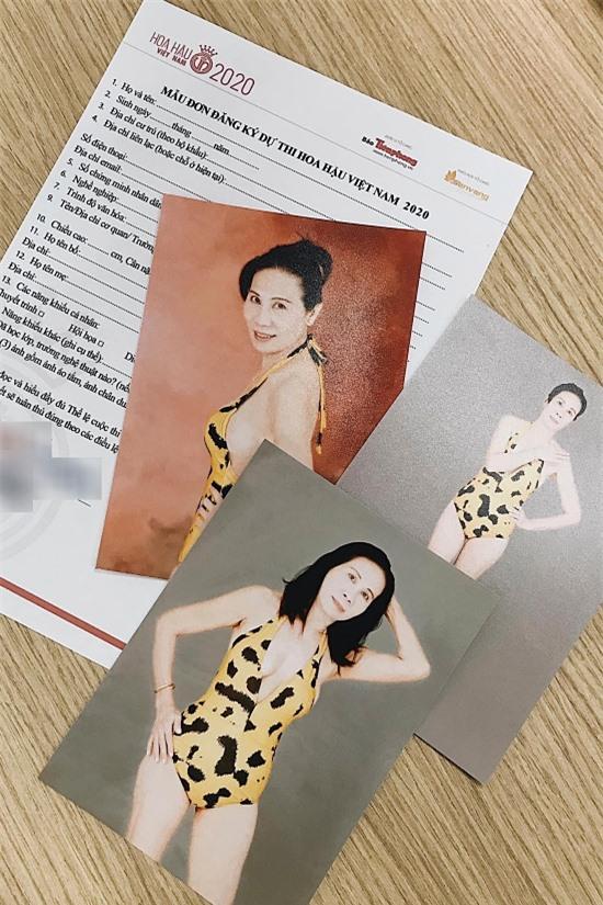 Hình ảnh chị Trần Bích Nga được ban tổ chức Hoa hậu Việt Nam đăng tải.