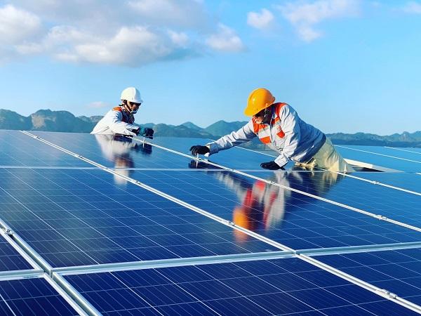 tất cả các nhà máy điện mặt trời tại khu vực các tỉnh Ninh Thuận, Bình Thuận sẽ được giải tỏa công suất và không còn tình trạng quá tải.