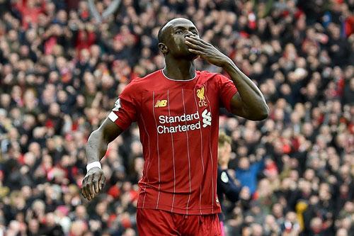 Tiền đạo: Sadio Mane (Liverpool).