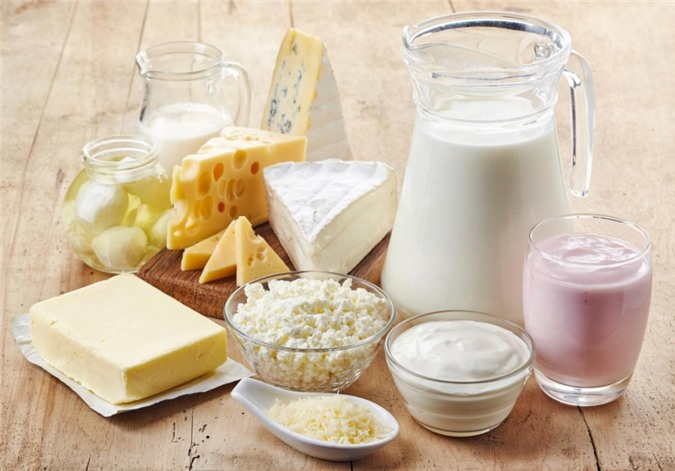 table-of-dairy-products