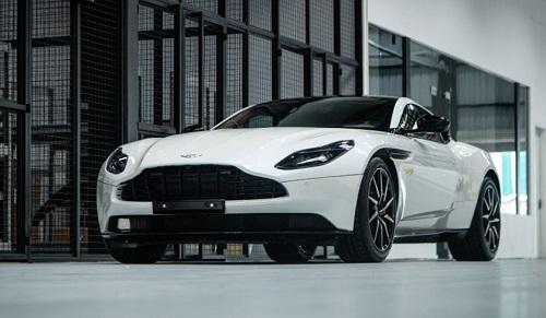 Aston Martin DB11 Morning Frost.