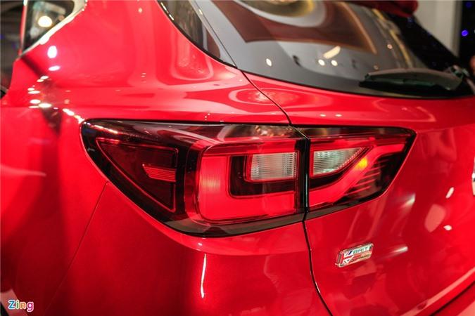 Chi tiet MG ZS doi thu Hyundai Kona tai Viet Nam anh 7
