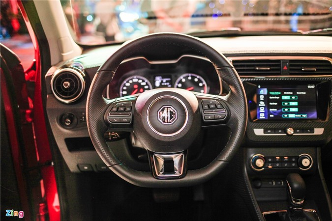 Chi tiet MG ZS doi thu Hyundai Kona tai Viet Nam anh 9