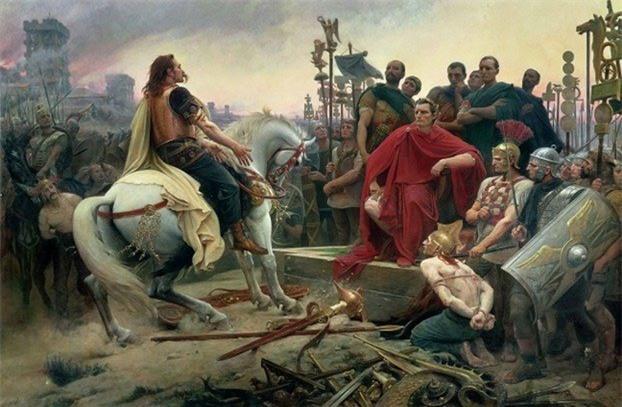 Vị hoàng đế La Mã nổi tiếng Julius Caesar đã từng có thời gian bị cướp biển bắt giữ