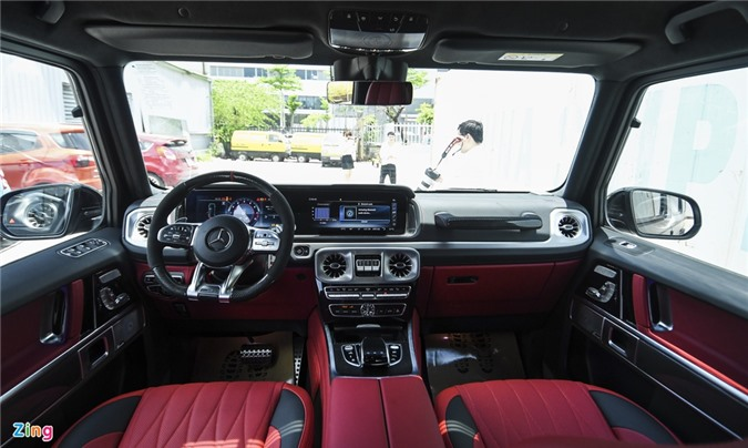 Chi tiet Mercedes-AMG G 63 voi goi Trail Package anh 12
