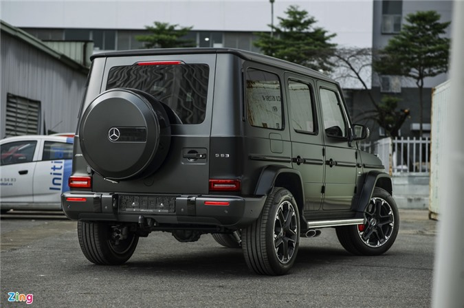 Chi tiet Mercedes-AMG G 63 voi goi Trail Package anh 2