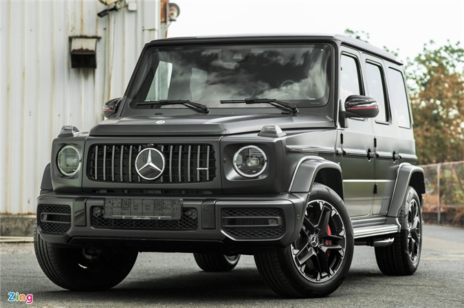 Chi tiet Mercedes-AMG G 63 voi goi Trail Package anh 8