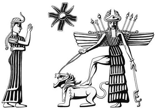 Nữ thần Inanna