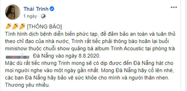Đàm Vĩnh Hưng, Bảo Thanh và sao Việt đồng loạt cổ vũ Đà Nẵng chống dịch COVID-19 - Ảnh 8.