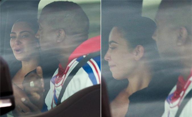 Kim Kardashian nghẹn ngào trút nỗi lòng khi gặp chồng.