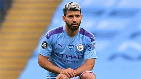 Man City mất Aguero ở đại chiến với Real