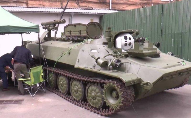 Hệ thống tên lửa chống tăng tự hành 9K114 Shturm-S do Ukraine hiện đại hóa. Ảnh: Topwar.