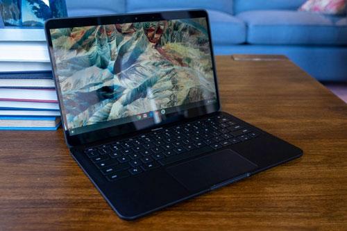 Laptop Chromebook tốt nhất: Google Pixelbook Go.