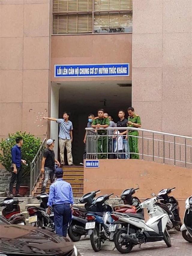 Đã bắt được 2 nghi phạm nổ súng cướp 900 triệu đồng tại BIDV ở Hà Nội - Ảnh 1.