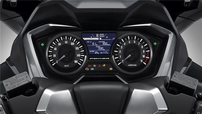 Ra mat Honda Forza 350 - trang bi den phanh khan cap, gia tu 5.499 USD anh 3