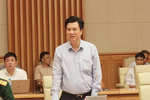 Thứ trưởng Bộ Giáo dục và Đào tạo Nguyễn Hữu Độ. (Ảnh: VOV)
