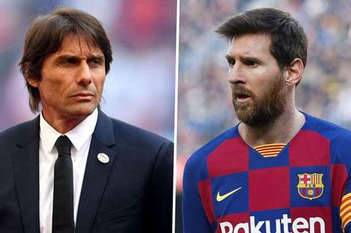 HLV Conte thừa nhận Inter không có cơ hội mua Messi
