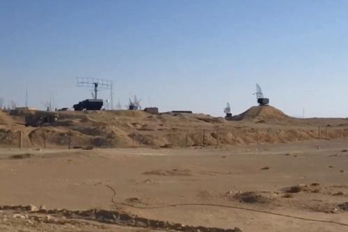 Radar phòng không Nga được phát hiện có mặt gần tỉnh Homs. Ảnh: Avia-pro.