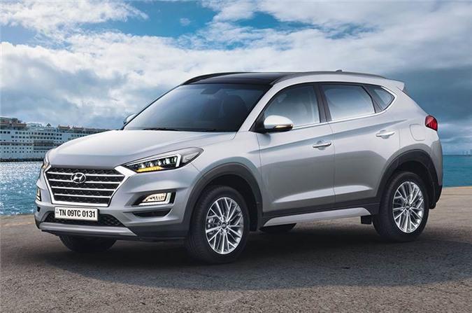 Hyundai Tucson bản facelift 2020.