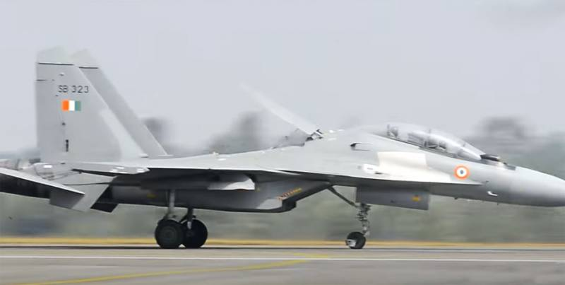 Tiêm kích Su-30MKI của Không quân Ấn Độ. Ảnh: Topwar.