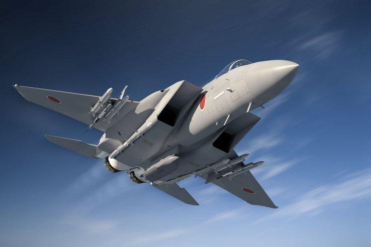 Đồ họa tiêm kích F-15J nâng cấp của Nhật Bản. Ảnh: Janes Defense.