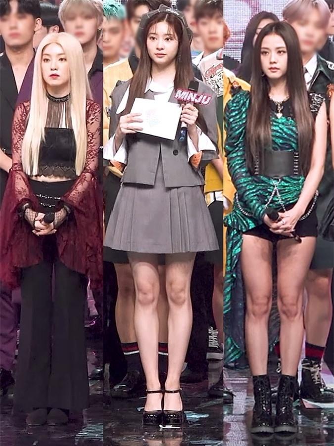 Irene lép vế khi đứng chung sân khấu cùng Min Joo và Ji Soo - Ảnh 2