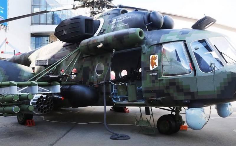 Trực thăng vận tải đa dụng Mi-8AMTSh-VN của Nga. Ảnh: Topwar.