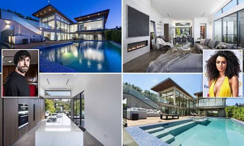 Jack Dorsey cũng sở hữu một ngôi nhà trị giá 4,5 triệu USD ở khu Hollywood Hills, trung tâm Los Angeles (Mỹ) và tặng nó cho bạn gái - người mẫu Raven Lyn - vào đầu năm 2019. Ảnh: Daily Mail.
