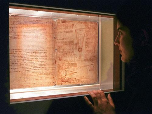 Đây cũng là nơi Bill Gates cất giữ những bức tuyệt tác của danh họa nổi tiếng Leonardo da Vinci từ thế kỷ thứ 16. Tỷ phú 64 tuổi mua chúng với giá 31 triệu USD vào năm 1994. Ảnh: AP.
