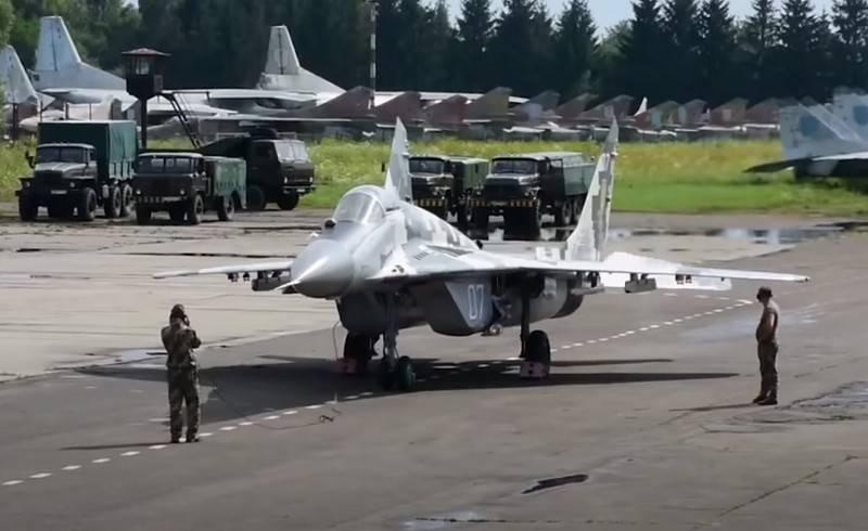 Tiêm kích MiG-29 của Không quân Ukraine. Ảnh: Avia-pro.