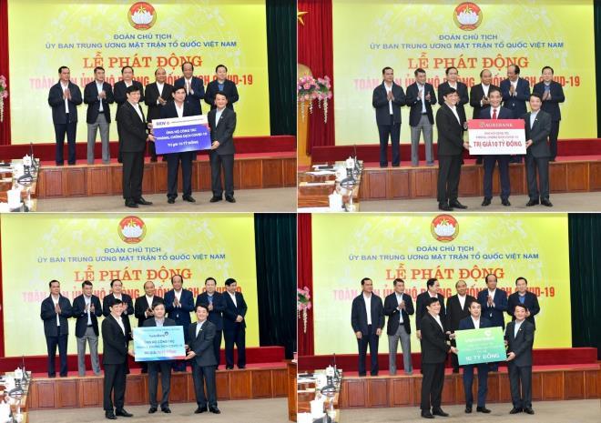 Ngành Ngân hàng hỗ trợ thành phố Đà Nẵng 25 tỷ đồng nhằm chống dịch Covid-19.