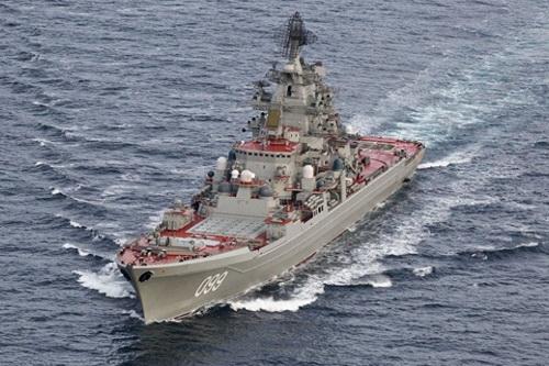 Nga không đóng được một khu trục hạm nào có lượng giãn nước 6.000 tấn từ khi Liên Xô sụp đổ. Ảnh: TASS.