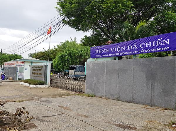 Bệnh viện dã chiến tại Trung tâm Y tế huyện Hòa Vang, nơi bệnh nhân