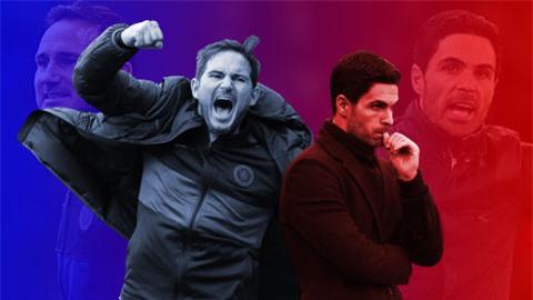 Lần này, Lampard sẽ lại 'đè' Arteta?