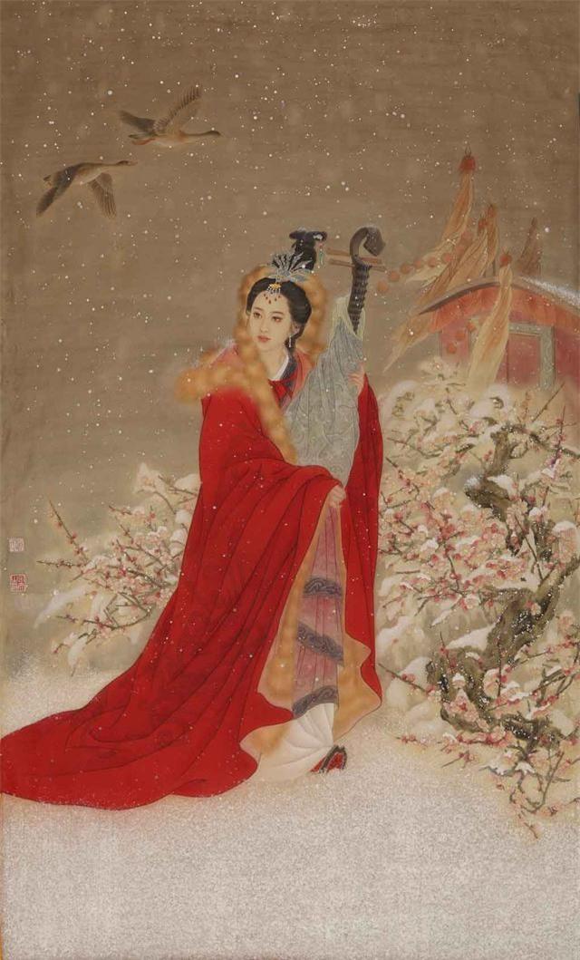 Mỹ nhân sở hữu nhan sắc tuyệt trần nhưng bị hãm hại nên Hoàng đế hắt hủi, sau này phải kết hôn với con trai của phu quân mới qua đời - Ảnh 3.