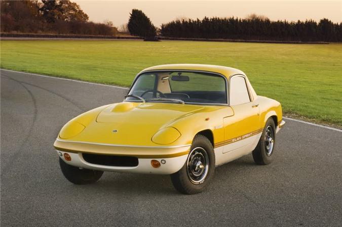 Lotus Elan 1962 nặng 584kg.