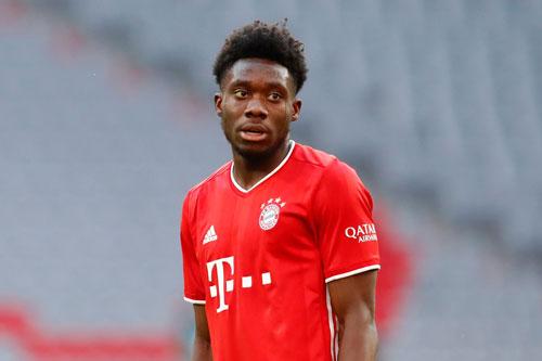 1. Alphonso Davies (Bayern Munich, giá trị chuyển nhượng hiện nay: 54 triệu bảng, mức tăng giá: 31,5 triệu bảng).